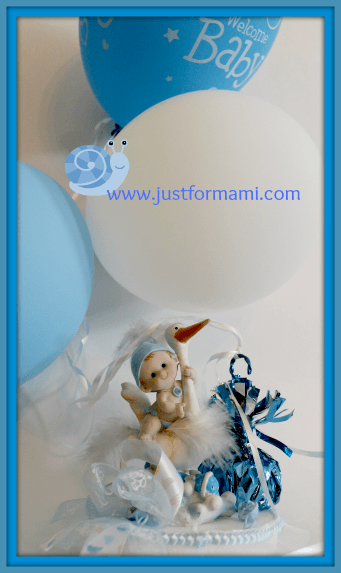 Ideas para baby shower archives just for mami for Mesa baby shower nino