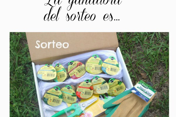 La ganadora de MIRACLE-Gro Express Yourself Kit es