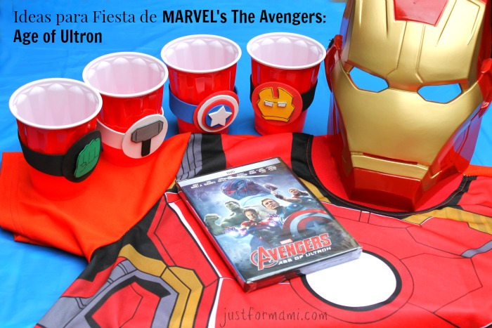 Ideas Para Fiesta Marvel S The Avengers Age Of Ultron Just For Mami