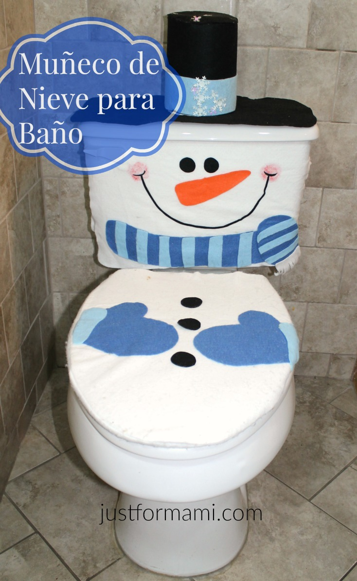 Muñeco de Nieve para Baño - Just for Mami