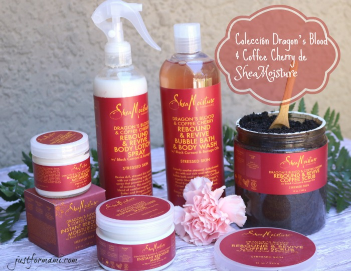 Colección Dragon's Blood & Coffee Cherry de SheaMoisture