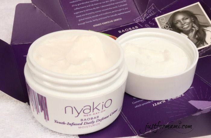 Nyakio Baobab Youth-Infused Daily Defense Crème