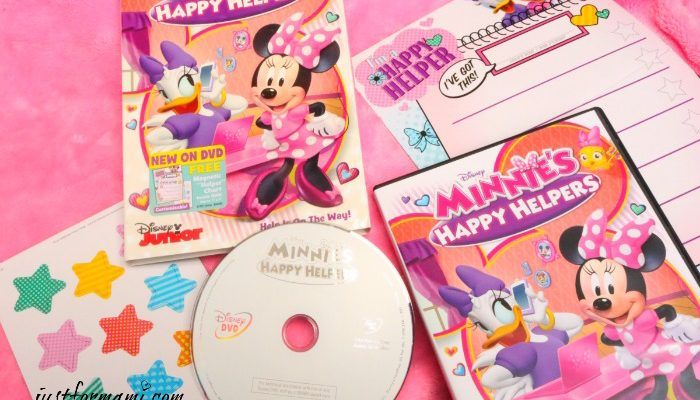 MINNIE'S HAPPY HELPERS Disney DVD