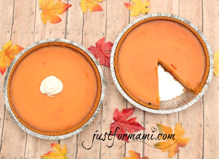 Receta de Pie de Calabaza Natural